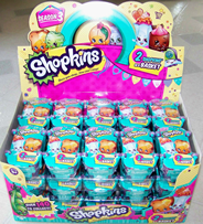 Cupcake Queen Limited Edition Shopkins Season 3 Two Pack Shopping Baskets